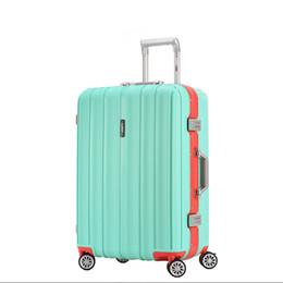 Valise trolley, boîte d'embarquement 20 pouces, valise 24 pouces, valise de voyage, coffre pour homme et femme, serrure universelle avec mot de passe à roue ? partir de fabricateur