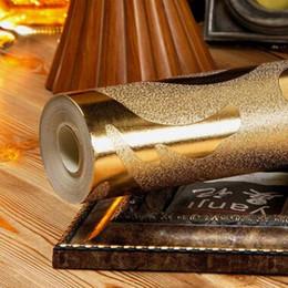 2019 luxusfolie tapete Klassische Luxus Damast Goldfolie Silber Wandpapier Glitter Tapete Decke Schlafzimmer Sofa TV Hintergrund Wand Wohnkultur rabatt luxusfolie tapete