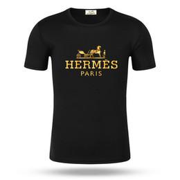 T-shirt col rond style hommes en Ligne-Hommes en gros givency été mens designer t-shirt style européen velours t-shirt col rond coton manches courtes hommes femmes giv t-shirts