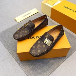 männliche modelle freizeitschuhe Rabatt mischen Sie 27 Modell Männer aus echtem Leder Schuhe Luxus Freizeitschuhe Müßiggänger Slipper auf italienischen Marke Designer männlichen Kleid Schuhe Flattie Casual Schuh 38