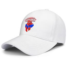Spiderman Swinging logo Spider шелк белый для мужчин и женщин кепка дальнобойщика бейсбол крутые обычай старинные шляпы от