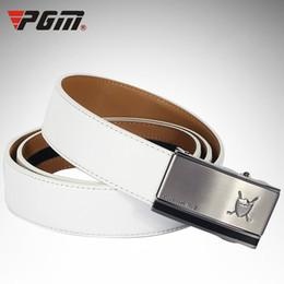 18ff7f7a0 cinturones de golf para hombres Rebajas Cinturón de golf PGM para hombre  Cinturón de piel de