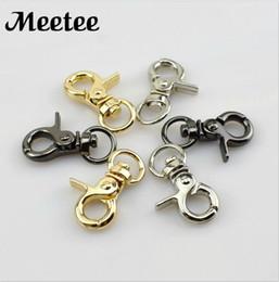 portachiavi portachiavi Sconti 10 millimetri di metallo Hook Buckles supporto del sacchetto del gatto collare di cane catenacci girevoli Moschettoni Zaini cinghie KeyChain Accessori fai da te