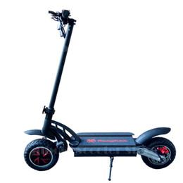 Daibot 48V Scooter elétrico Dois scooters elétricos rodas de 10 polegadas duplo unidade 1600W 55km / H dobrável elétrica skate para adulto de