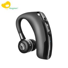 производители наушников Скидка V9 Бизнес, Спорт Bluetooth-гарнитура висит беспроводной CSR чип стерео, одно ухо Bluetooth-гарнитура, сотовый телефон наушники