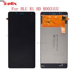 """Pantalla azul online-LCD de 5.0 """"para BLU R1 HD R0031UU Reemplazo del ensamblaje del digitalizador de pantalla táctil 100% testeado para BLU R1 HD R0011UU"""