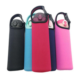 Water Bottle Sleeve Cover Neoprene Insulated Bag Case Pouch Carrier Protector SU