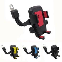 держатель автомобильного телефона Скидка Мотоцикл держатель мобильного телефона электромобиля крепление двигателя 3,5-6,5 дюймов подставка для телефона четыре цвета аксессуары для мобильных телефонов