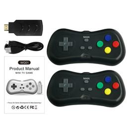 Consola de jogos hd on-line-2.4G sem fio HD saída TV Game Console com 200 jogos originais sem repetição