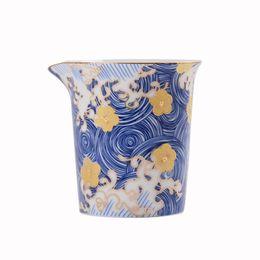 Color Esmalte Cha Hai 200 ml Tazas de cerámica para la feria Hecho a mano Kung Fu chino Accesorios de té Juego de té pintado a mano desde fabricantes