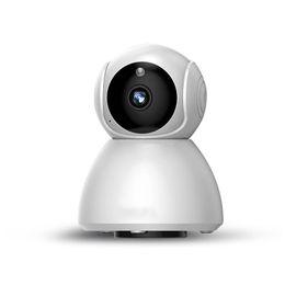 2019 cúpula câmera de segurança metal HD 1080x720P Câmera IP Sem Fio Portátil inteligente Wifi Câmera de Segurança CCTV Webcam bebê monitor de Visão Noturna de Áudio e Vídeo Telecamera