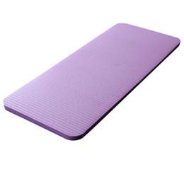 Nuova vendita Yoga Knee Pad 15Mm Yoga Mat grande spessore Pilates esercizio Fitness Pilates allenamento Mat antiscivolo stuoie di campeggio cheap 15mm mat da stuoia di 15mm fornitori