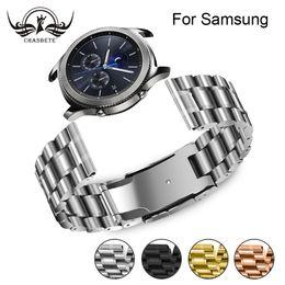 живые группы Скидка for Samsung Classic Frontier Gear 2 Watchband 20mm 22mm Galaxy Watch 42mm 46mm SM-R810/R800 Strap Wrist Belt Neo Live Watch Band