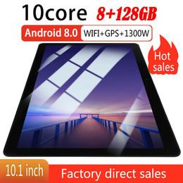 "2019 tableta dual core a23 10.1 ""WIFI / 4G-LTE HD PC Tablet Android 8.0 Bluetooth 8 + 128G SIM GPS Cámara dual"