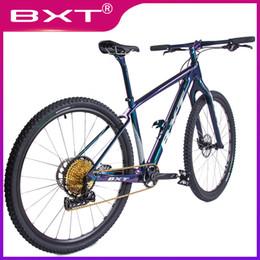 frame carbono mountain bike 29er Desconto 2019 Frete Grátis BXT Novo 29er Bicicleta De Montanha De Carbono Urbana 1 * 12Velocidade Completa bicicleta 29 polegadas MTB Boost Chameleon Quadro