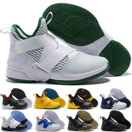 2020 soldat lebron 12 Lebron soldats 12 hommes Outdoor trainer Chaussures Chaussure d'entraînement athlétiques Sneakers Eur 40-46 Top qualité soldat lebron 12 pas cher
