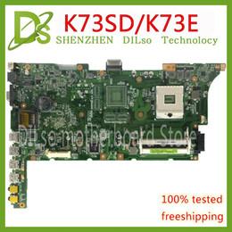 quad core cpu 775 Rabatt KEFU K73SD Für ASUS K73E K73SD A73S K73S K73S K73SV P53E Laptop Motherboard HM65 REV: 2.3 Testarbeit 100%