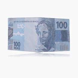 Argentina Monedas Billeteras impresas Euro Libra Dólar Patrón PU Cuero Flip Cartera corta Elegante Monedero Ranura para tarjeta Titular de Clips de dinero para hombres mujeres niños Suministro