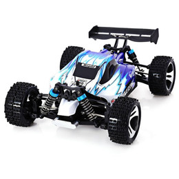 Rc stunts auto online-Rc Car Wltoys A959 2 .4g 1/18 Scala di controllo remoto Off -Road Racing Car alta velocità Stunt Suv Toy regalo per Boy Rc Mini Car