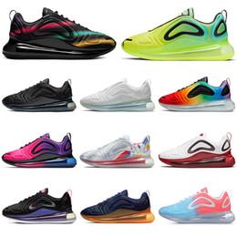 Nike air max 720 720s New Designer Multicolor Laufschuhe für Männer Frauen Be True Pride Triple schwarz Sonnenuntergang Volt Northern Lights Herren