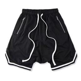Mens soft online-Summer Fear Of God Shorts Biforcazione di Boston Uomo Donna Pantaloncini lavati FOG Soft Pure Mens Sporting FOG Casual