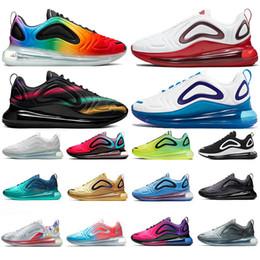 Moda atrevida online-Top Fashion Bold Branding Be True Pride Oxygen Purple Zapatos para correr para hombre Mujeres Sunset Volt Sea Forest Sunrise Entrenadores para hombre Zapatillas de deporte