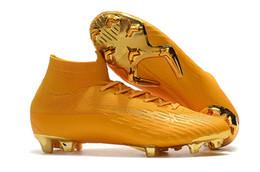 free shipping 24975 1d0d5 bottes de football à bas prix Promotion 2019 chaussures de soccer pour  hommes Mercurial Superfly V