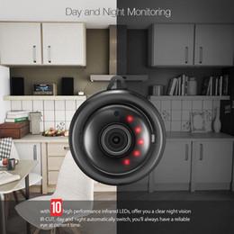 Siyah 360 Panorama 720 P Bulut Depolama Akıllı Ev Güvenlik WiFi IP 1.8mm / 3.6mm lens Kamera supplier security camera wifi hdd nereden güvenlik kamerası wifi hdd tedarikçiler