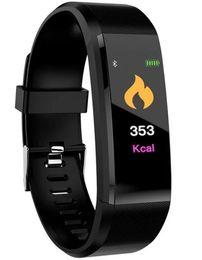 Bracelet Best-seller ID115 Plus d'écran tactile avec le moniteur de fréquence cardiaque ? partir de fabricateur