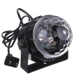projetor estrela em movimento Desconto Active sadio da festa de casamento LED RGB Mini Disco Club DJ Light Crystal Efeito Magic bola iluminação de palco para 110-240V Xmas Natal para KTV, Ba