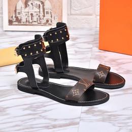 vestidos de praia marcas Desconto Designer de luxo das Mulheres Andando sandálias de Verão superstar marca de Moda plana Chinelos Sandálias de Praia das mulheres se vestem sapatos de alta qualidade