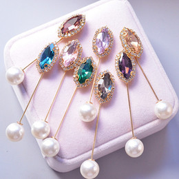 Bling Bling Rhinestone Broş Takım Yaka Pin Düğün Gelin Elbise Broş Pin Hediye Aşk Mix Renk Toptan için Fiyat nereden karışık gelin broşları tedarikçiler