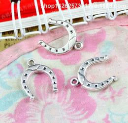 Canada 16.3 * 13 MM Tibétain en alliage de zinc mode antique bronze selle charmes pour bracelet vintage pendentifs en métal boucle d'oreille à la main bricolage fabrication de bijoux Offre