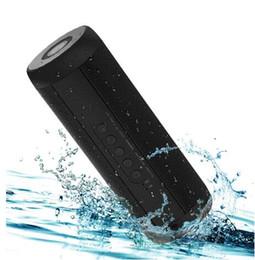 I migliori altoparlanti portatili del iphone online-Altoparlanti Bluetooth wireless T2 Miglior altoparlante esterno portatile Altoparlante Mini Colonna Box Design per iPhone Xiaomi