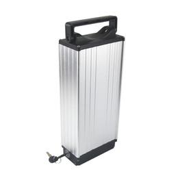 Concha do motor elétrico on-line-Liga de alumínio shell ebike bateria elétrica 48 v 20AH 18650 li ion para 750 W 1000 W 1200 W motor com carregador