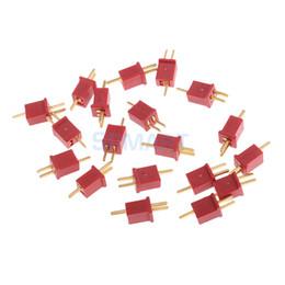 Plugues deanos on-line-20pcs Ultra Mini T de conector Micro Deans plug Deans Conectores para RC LiPo NiMH ESC Motor 20pcs Ultra Mini