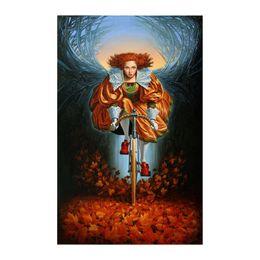 Hd print oil painting michael cheval-92 art prints decor wall canvas 16x20inch