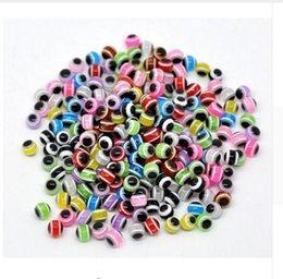 1000 ADET Karışık Renkli Boncuk Yuvarlak Nazar Reçine Göz Boncuk Şerit Spacer Boncuk Takı Moda DIY Bilezik Yapımı 4 5 6 8 10mm nereden