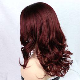 peluca de 18 pulgadas Rebajas Popular Big Body Wave Wigs para mujeres negras pelucas de cabello de alta calidad de color de colores Celebrity Wig Loose Wave pelucas 14-18inch