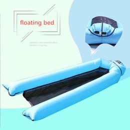 Colore della biancheria da letto online-Letto galleggiante nuova novità colore luminoso piscina galleggiante sedia piscina sedili piscina galleggiante letto incredibile piscina