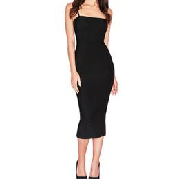 Bonne qualité Femmes Moulante Slim Dress Cocktail Party Clubwear Crayon Dress Dress Basic Club Sexy Party Long Slip Dresses Robes ? partir de fabricateur