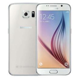 5.1-дюймовые сотовые телефоны онлайн-Восстановленные Samsung Galaxy S6 G920V G920A G920F сотовые телефоны Оригинал 5.1-дюймовый 3G 4G LTE восстановленные телефоны 3 ГБ оперативной памяти 32 ГБ ROM смартфон