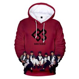Hoodies di stile coreano online-Aikooki Hot New Korea BTOB Felpe con cappuccio 3D Uomo / Donna Autunno Moda Casual Hip Hop 3D Felpe con cappuccio Felpe Harajuku Style Felpa con cappuccio