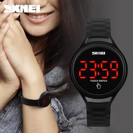 2019 reloj deportivo cinético Hot Candy color damas deportes lindos impermeable a prueba de golpes multi-cinética energía pantalla electrónica correa suave pantalla táctil relojes deportivos reloj deportivo cinético baratos