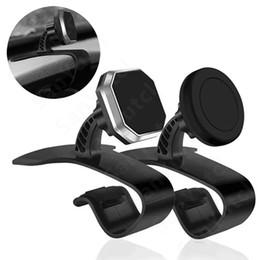 Универсальный магнитный автомобильный держатель для телефона Держатель приборной панели Магнитная подставка для телефона Поддержка с клеем для безопасного вождения для мобильного телефона от