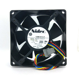 For NIDEC M35556-35 DEL3F fan 92*92*38mm 12V 1A 4pin for DELL POWEREDGE T300