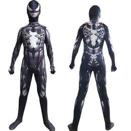 antichi costumi romani Sconti Venom costume cosplay adulto collant spiderman costume di Natale bambini veleno COS abbigliamento