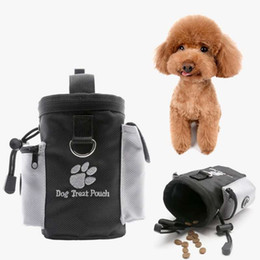 zugbehälter Rabatt Pet Puppy Training Food Container Dog Cat Snack Bag Obedience Hands Free Agility Bait Food Special Training Pouch Waterproof Food Bag