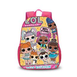 Mochilas kawaii online-LOL Mochilas para Niños 24 Estilos Muñecas de Dibujos Animados Kawaii Mochila Bebé Niñas Paquete de Hombro Doble para Niños Escuela
