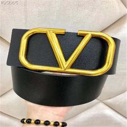 cinto de designer v Desconto 2019 Cinto cinto de grife de marca 7 CM cinta grande modelo V cintos de fivela cintos de couro para as mulheres cinto de moda de luxo